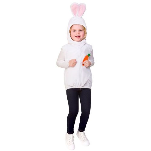 Childrens Child Tabard - Easter Bunny Costume Unisex Fancy Dress